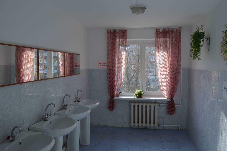 Ванная комната общежития
